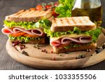 close up photo of a club... | Shutterstock . vector #1033355506