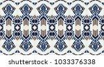 ikat geometric folklore...   Shutterstock .eps vector #1033376338