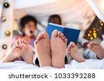 african american man reading...   Shutterstock . vector #1033393288