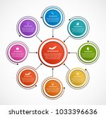abstract options infographics... | Shutterstock .eps vector #1033396636