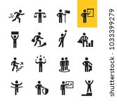 business and office icon | Shutterstock .eps vector #1033399279