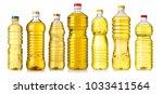 set of vegetable or sunflower...   Shutterstock . vector #1033411564