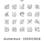 charts well crafted pixel... | Shutterstock .eps vector #1033415818