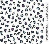 cute seamless pattern with... | Shutterstock .eps vector #1033420273