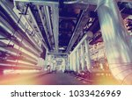 industrial zone  steel... | Shutterstock . vector #1033426969