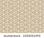 abstract geometric pattern with ... | Shutterstock . vector #1033431493