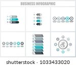 abstract infographics number... | Shutterstock .eps vector #1033433020