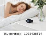 Unrecognizable Woman Sleeps On...