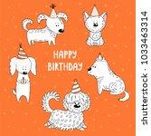 hand drawn vector illustration... | Shutterstock .eps vector #1033463314