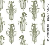 vector seamless pattern with... | Shutterstock .eps vector #1033472140