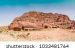 cave dwellings in the rose city ... | Shutterstock . vector #1033481764
