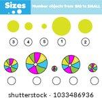 children educational game....   Shutterstock .eps vector #1033486936