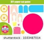 diy children educational...   Shutterstock .eps vector #1033487014