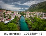 panoramic aerial view of the... | Shutterstock . vector #1033509448