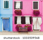 Lovely House Facade With Bench...