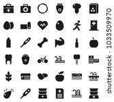 flat vector icon set   double... | Shutterstock .eps vector #1033509970