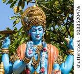 shiva statue  hindu idol in... | Shutterstock . vector #1033520476