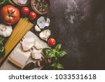 top view of different...   Shutterstock . vector #1033531618