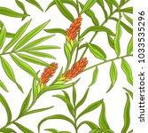 ginger vector pattern | Shutterstock .eps vector #1033535296