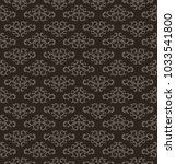 seamless pattern for decoration ... | Shutterstock .eps vector #1033541800