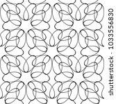 white and black geometric...   Shutterstock .eps vector #1033556830