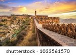 jaigarh fort at sunset.... | Shutterstock . vector #1033561570