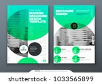 brochure template layout  cover ... | Shutterstock .eps vector #1033565899