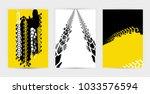 vector automotive banners... | Shutterstock .eps vector #1033576594