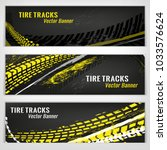vector automotive banners... | Shutterstock .eps vector #1033576624