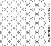 geometric ornamental vector... | Shutterstock .eps vector #1033578244