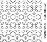 seamless geometric ornamental... | Shutterstock .eps vector #1033588060
