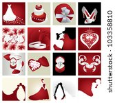 wedding  valentine      s day... | Shutterstock .eps vector #103358810