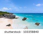 Horseshoe Bay In Bermuda On A...