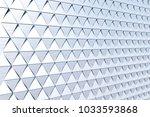 abstract 3d minimalistic... | Shutterstock . vector #1033593868