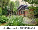 russia  a country house and...   Shutterstock . vector #1033602664