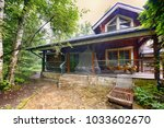 russia  a country house and...   Shutterstock . vector #1033602670