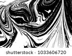 black and white liquid texture. ... | Shutterstock .eps vector #1033606720