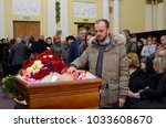editorial use only. funeral of... | Shutterstock . vector #1033608670