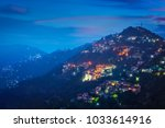 night view of shimla   the... | Shutterstock . vector #1033614916