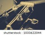 acoustic guitar background   Shutterstock . vector #1033622044