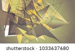 abstract mosaic vintage... | Shutterstock . vector #1033637680