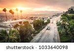 aerial panoramic view of ocean...   Shutterstock . vector #1033640098