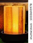 modern lamp in hotel....   Shutterstock . vector #1033645978