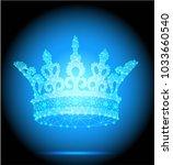 crown vector illustration  low...   Shutterstock .eps vector #1033660540