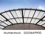 polycarbonate roofing use for... | Shutterstock . vector #1033669900