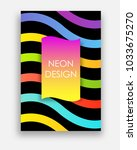 vibrant vector templates of web ... | Shutterstock .eps vector #1033675270