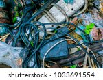 Small photo of Old cable and plug are discard