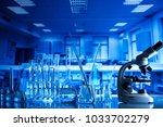 science concept. laboratory... | Shutterstock . vector #1033702279