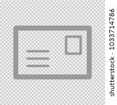 envelope vector icon eps 10.... | Shutterstock .eps vector #1033714786