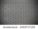 locker or letterbox background | Shutterstock . vector #1033717150